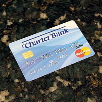 Charter Bank Debit Card
