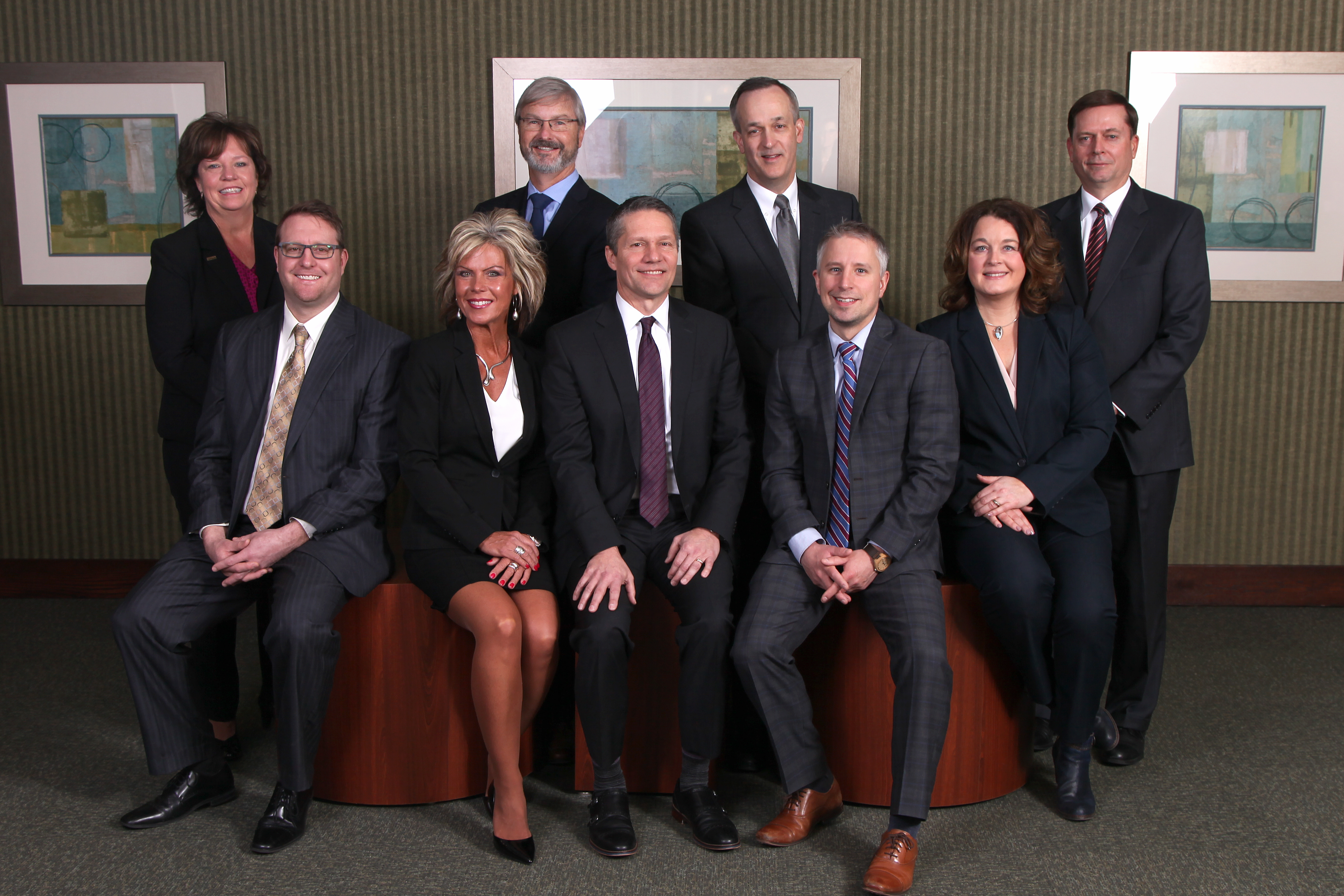 picture of the business team at Charter Bank